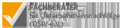 Logo: Fachberater für Unternehmensnachfolge (DStV e.V.) -